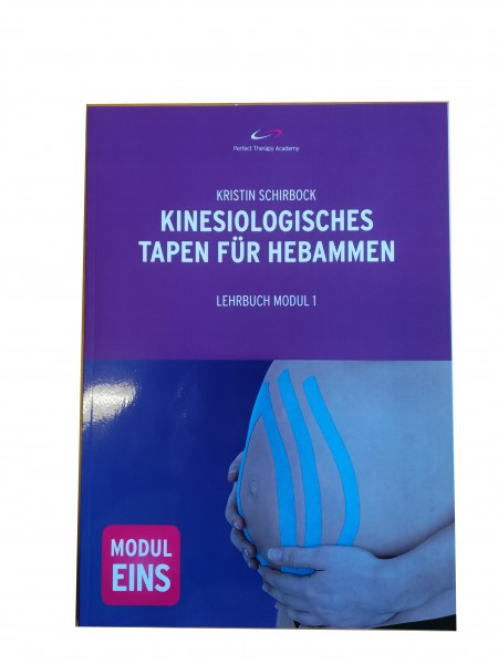 Lehrbuch kinesiologisches Tapen Hebammen, Modul 1