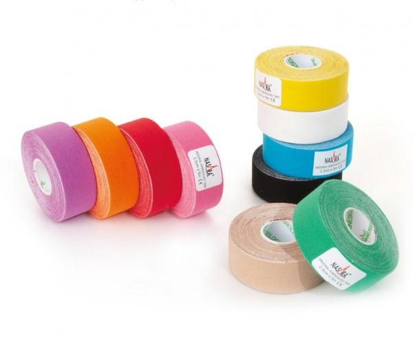 Nasara Tape 2,5cm x 5m - 2 Rollen